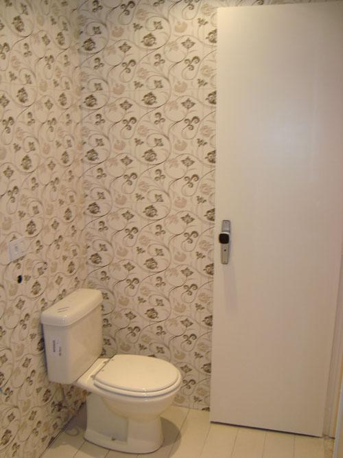 Banheiros Com Papel De Parede Pictures to pin on Pinterest -> Decoracao De Banheiro Com Papel Contact